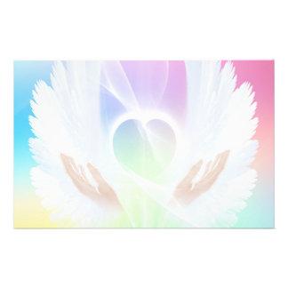 Flyer of a loving heart
