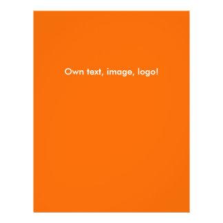 Flyer Orange - Dark Blue
