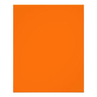Flyer Orange ~ Dark Blue