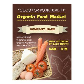 flyer organic market