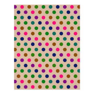 Flyer Polka Dots