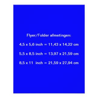 Flyer Royal Blue ~ Dark Blue