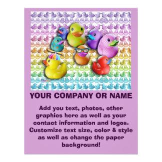 Flyer - Rubber Duckies