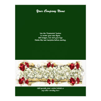 Flyer template Christmas promotions marketing