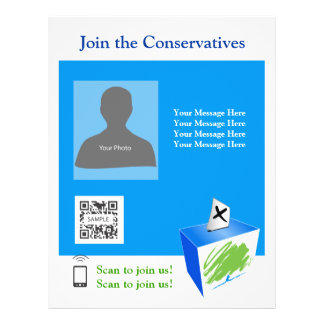 Flyer Template Conservative Party