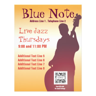 Flyer Template Event Jazz Band