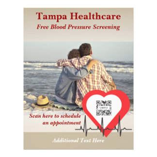 Flyer Template Heart Health