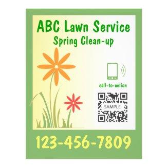 lawn care flyer ideas
