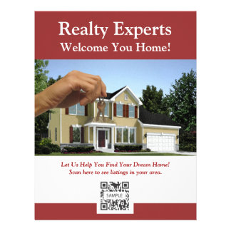 Flyer Template Realty Experts Letterhead