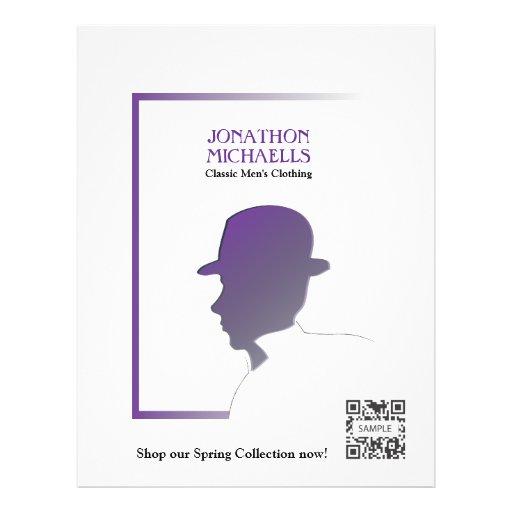 flyer template retail men u0026 39 s clothing