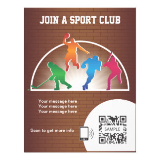Flyer Template School Athletics