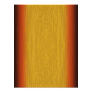 Flyer Template: Sunburst Wood Grain
