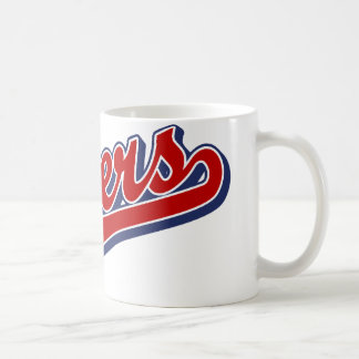 Flyers in Red and Blue Classic White Coffee Mug