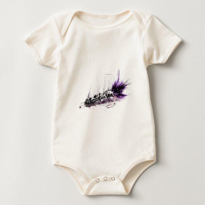 Flyfisherman's Fly Baby Bodysuit