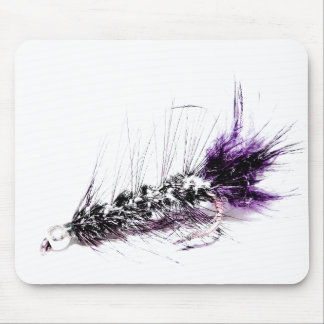 Flyfisherman's Fly Mouse Pad