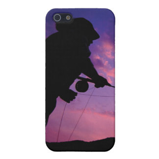 FlyFishing at Sunset iPhone SE/5/5s Case