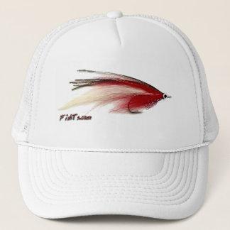 Flyfishing bait, tackle, lure, trucker hat