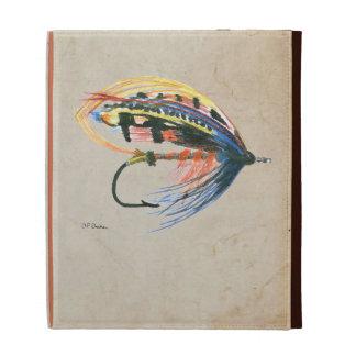 FlyFishing Lure Art Salmon Fly Lure iPad Folio Case