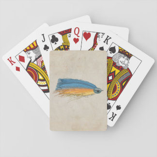 FlyFishing Lure Art Salmon Fly Lure Playing Cards