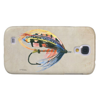FlyFishing Lure Art Salmon Fly Lure Samsung S4 Case