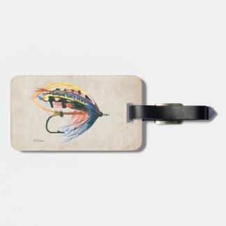 Flyfishing luggage bag tags zazzle for Fly fishing luggage