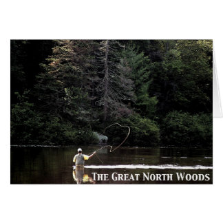 Flyfishing on the Androscoggin: Great North Woods Card