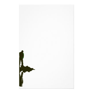 Flyfishing Silhouette Stationery