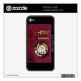 Flyfishing Still-life Skins For iPhone 4S