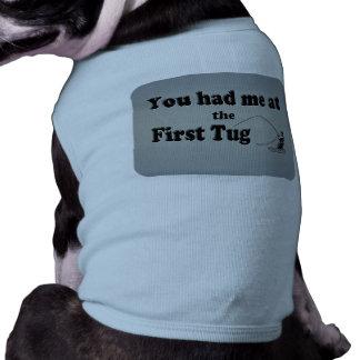 Flyfishing: You had me at the First Tug! Dog Tee