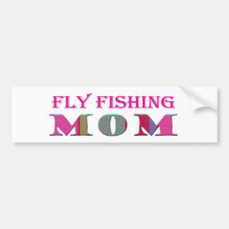 FlyFishingMom Car Bumper Sticker