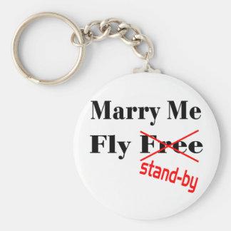 flyfree llavero redondo tipo pin