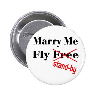 flyfree pinback button