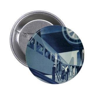 Flyg Med A-B Aerotransport 2 Inch Round Button