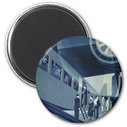 Flyg Med A-B Aerotransport 2 Inch Round Magnet
