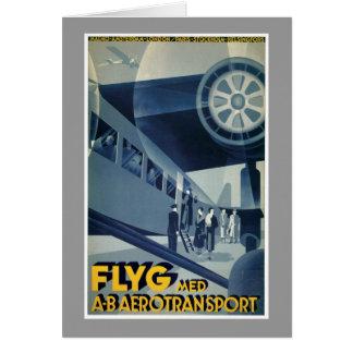 FLYG Med A-B Aerotransport Cards