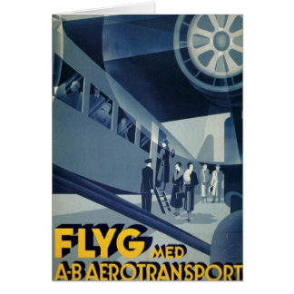FLYG Med A-B Aerotransport Card