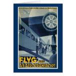Flyg Med A-B Aerotransport Greeting Cards