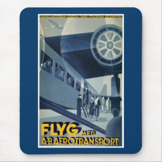 Flyg Med A-B Aerotransport Mouse Pad