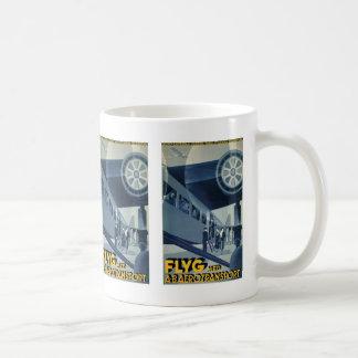 Flyg Med A-B Aerotransport Classic White Coffee Mug