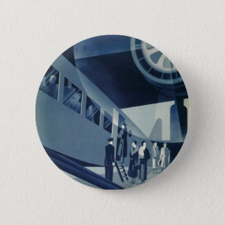Flyg Med A-B Aerotransport Pinback Button