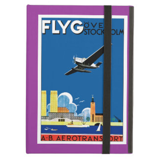 Flyg Over Stockholm iPad Air Cover