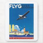 Flyg sobre Estocolmo Alfombrilla De Ratón