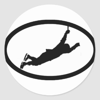 Flyin' Bruin Classic Round Sticker