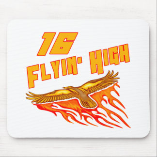 Flyin High 16th Birthday Gifts Mouse Pad