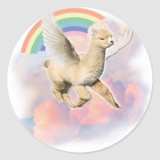 Flyin Paca Classic Round Sticker