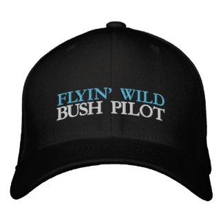 FLYIN' WILD EMBROIDERED BASEBALL CAP