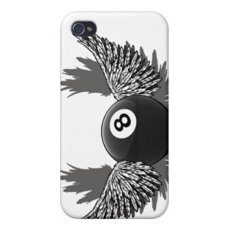Flying 8Ball iPhone 4 Case