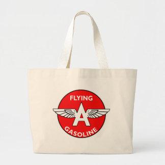 Flying A Gasoline flat version Canvas Bag