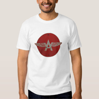 Flying A Gasoline Red Circle Rusty version Shirt