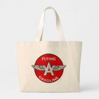 Flying A Gasoline rusted version Tote Bags